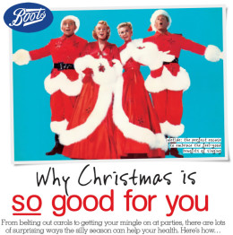 Boots Health & Beauty Magazine – Why Christmas is so good for you