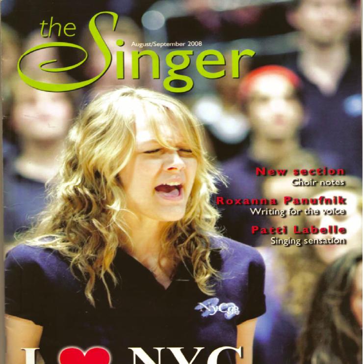 Singer Magazine