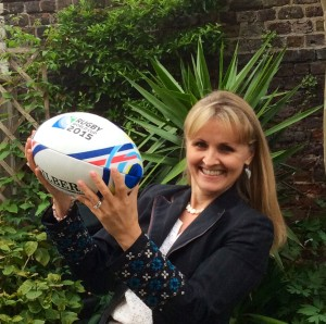 Helen Astrid Rugby World Cup songs